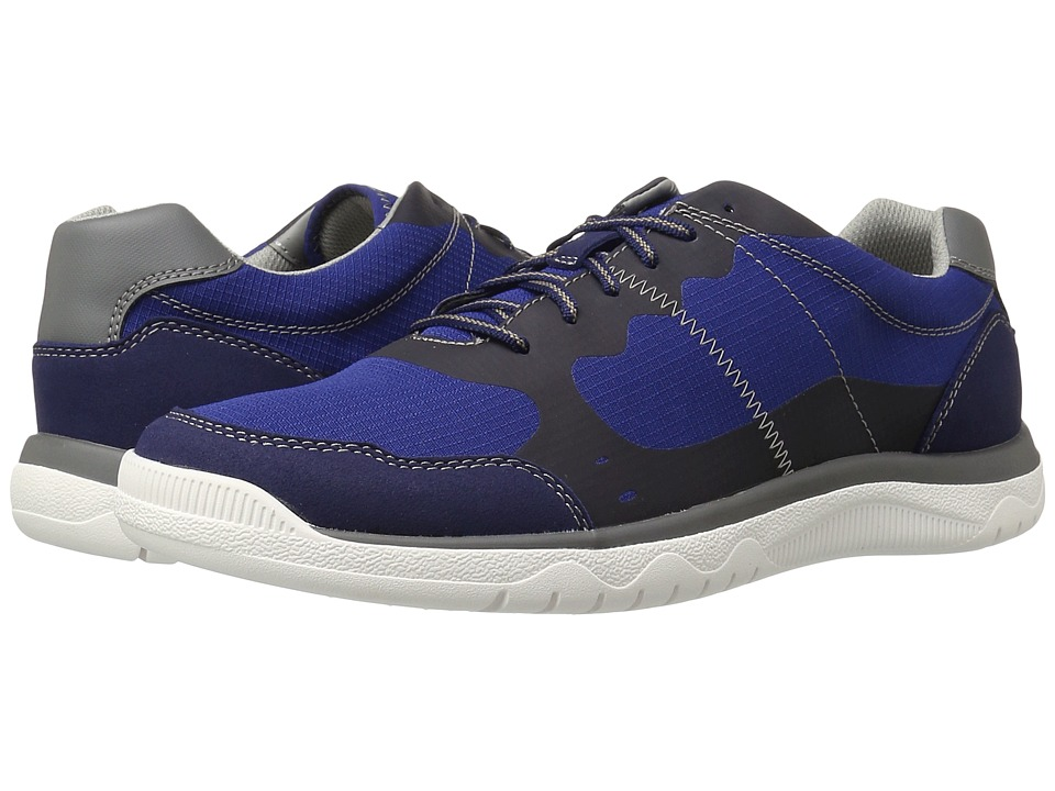 Clarks Votta Edge (Blue Synthetic) Men
