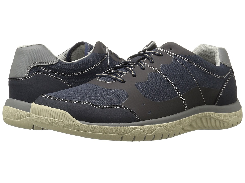 Clarks Votta Edge (Navy Synthetic/Taupe) Men