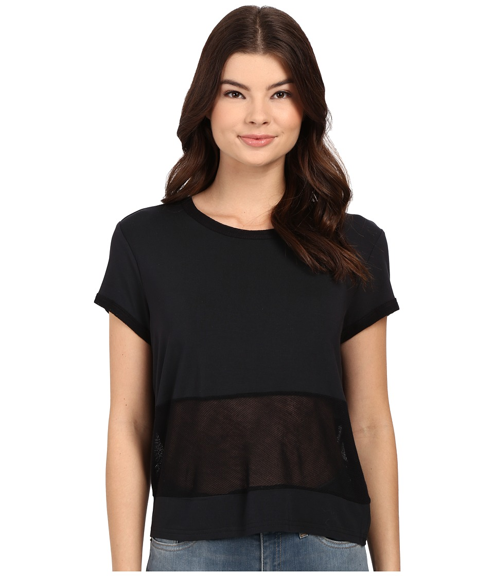 Bench - Stop Short Sleeve Top (Jet Black) Women's Short Sleeve Pullover