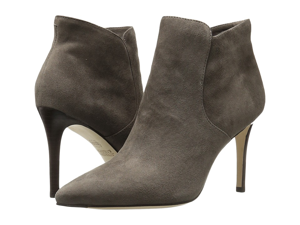 Johnston & Murphy - Valerie Bootie (Gray Kid Suede) Women's Pull-on Boots