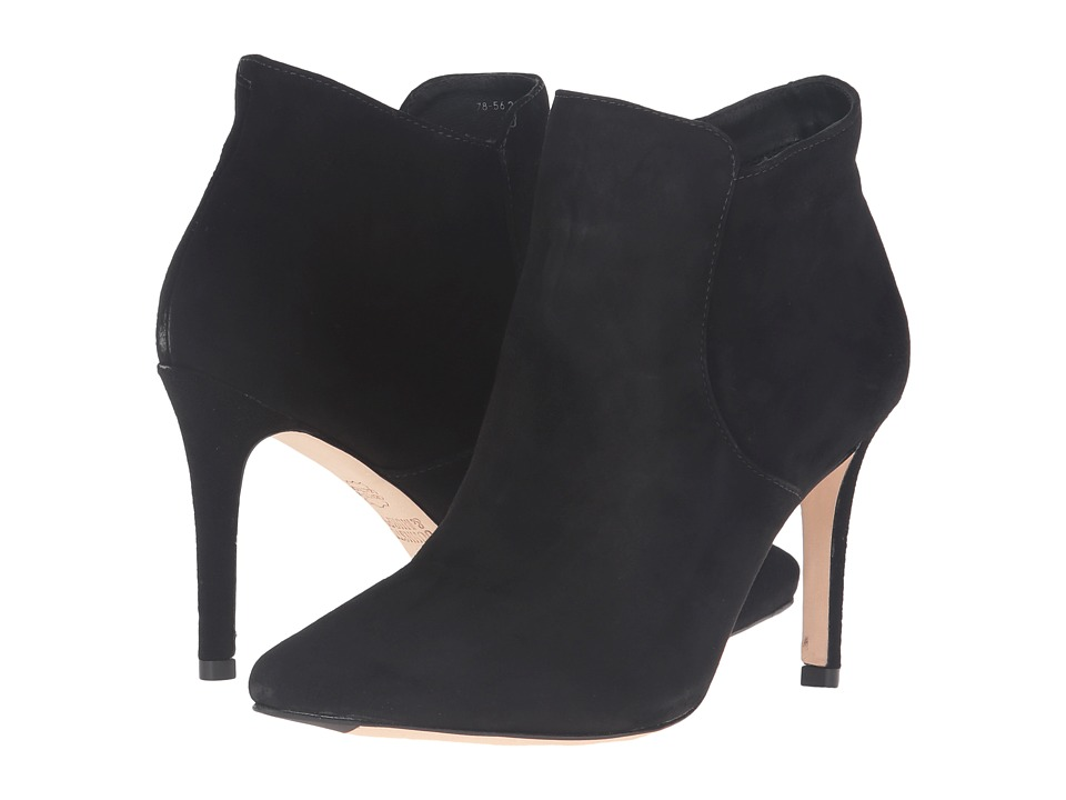 Johnston & Murphy - Valerie Bootie (Black Kid Suede) Women's Pull-on Boots