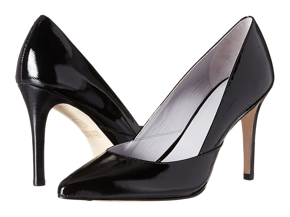 Johnston & Murphy - Vanessa Pump (Black Patent Leather) High Heels