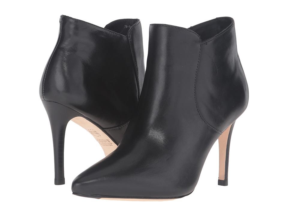 Johnston & Murphy - Valerie Bootie (Black Calfskin) Women's Pull-on Boots