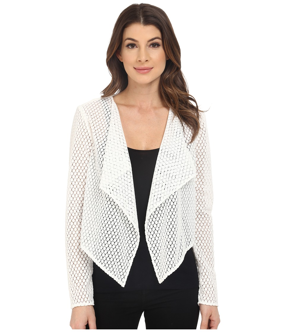 Jessica Simpson - Lace Jacket (White) Women's Coat