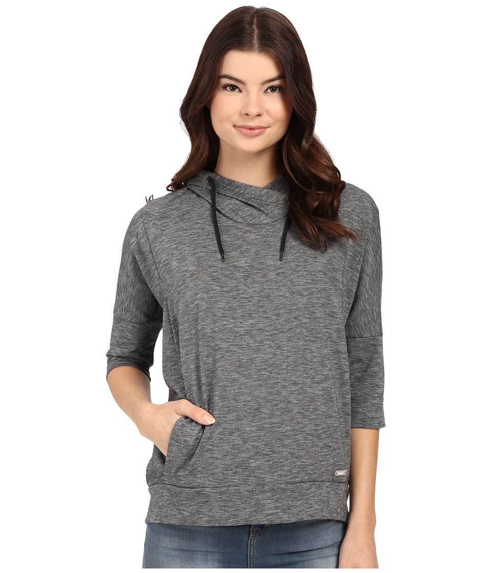 Bench Ally Overhead Pullover Hoodie (Jet Black) Women