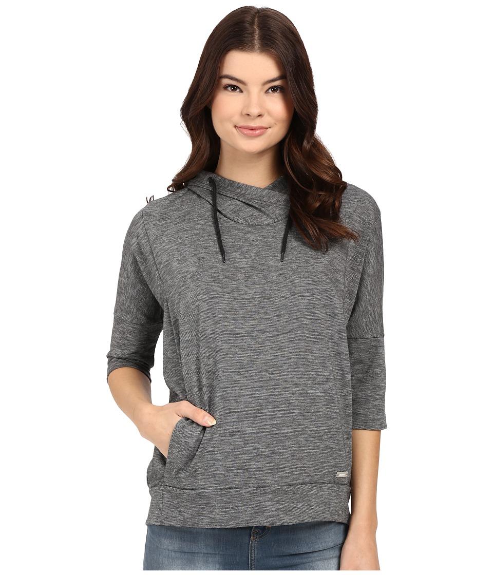 Bench - Ally Overhead Pullover Hoodie (Jet Black) Women's Sweatshirt