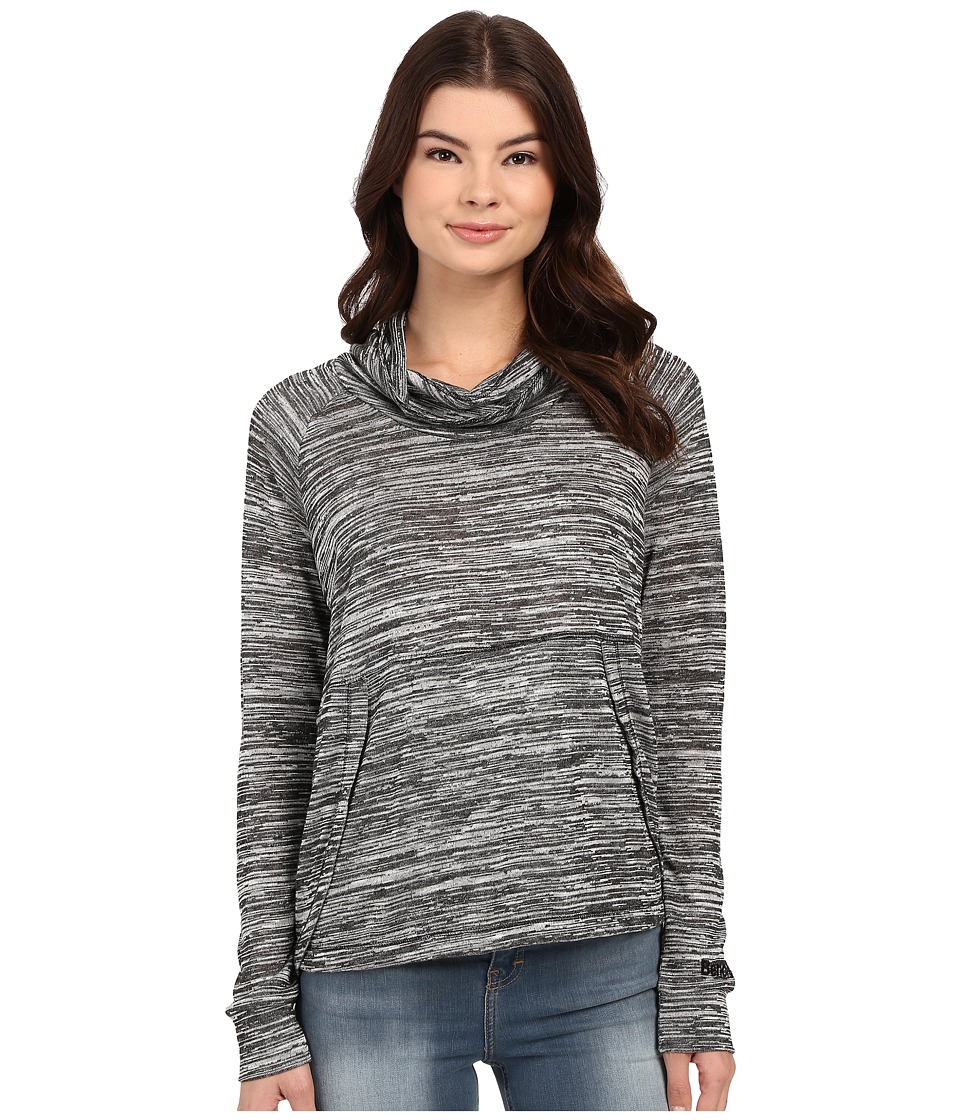 Bench - Breeze Overhead Cowl Neck Sweatshirt (Jet Black) Women's Sweatshirt