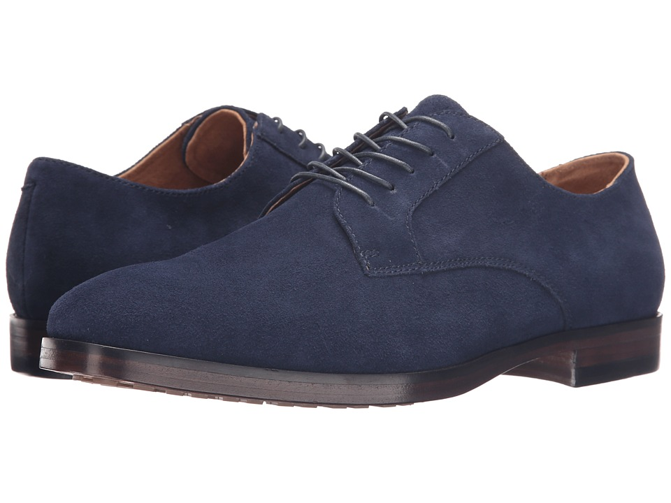 Polo Ralph Lauren - Domenick (Newport Navy Sport Suede) Men's 1-2 inch heel Shoes