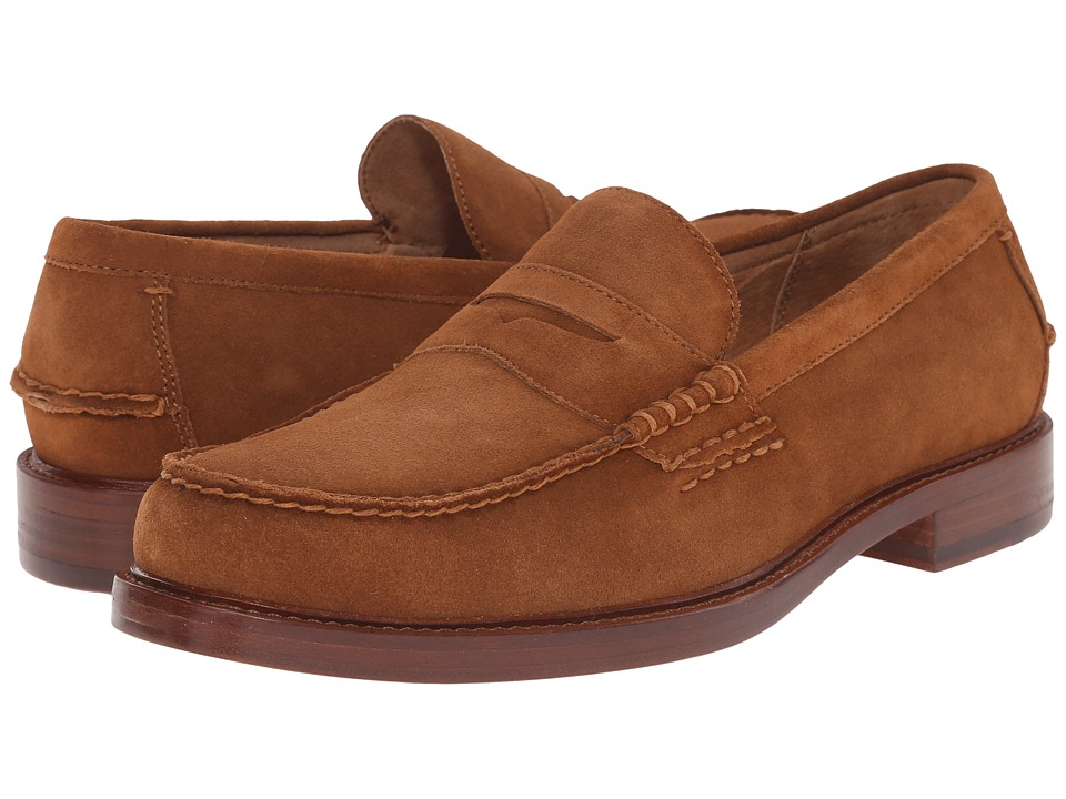 Polo Ralph Lauren - Dustan (New Snuff Sport Suede) Men's 1-2 inch heel Shoes