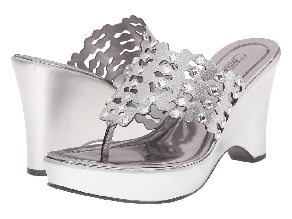 CARLOS by Carlos Santana - Karina (Silver) Women's Shoes