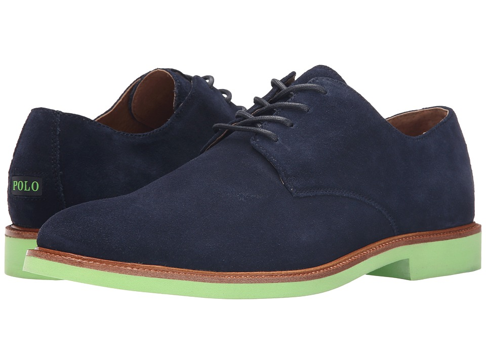 Polo Ralph Lauren - Torrington NT (Newport Navy Suede) Men's Shoes