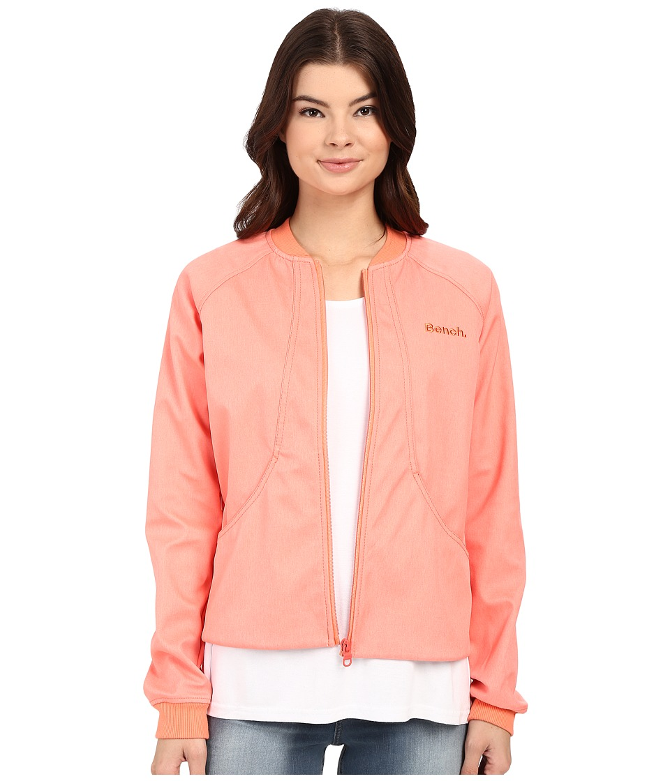 Bench - Dinky Jacket (Fusion Coral) Women's Coat