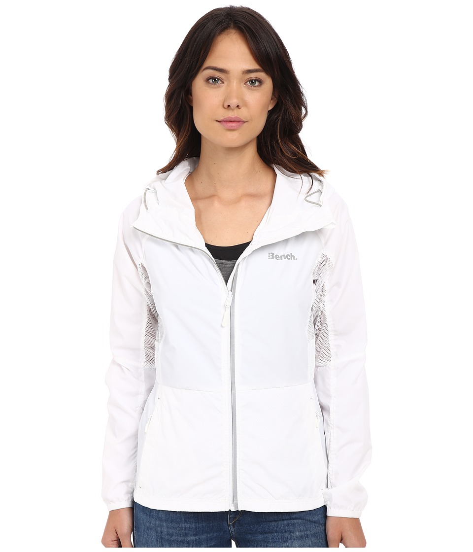 Bench - Lively Jacket (Bright White) Women's Coat