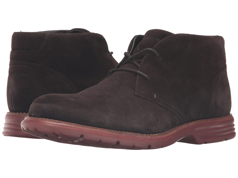 Rockport Total Motion Fusion Desert Boot (Dark Bitter Chocolate) Men