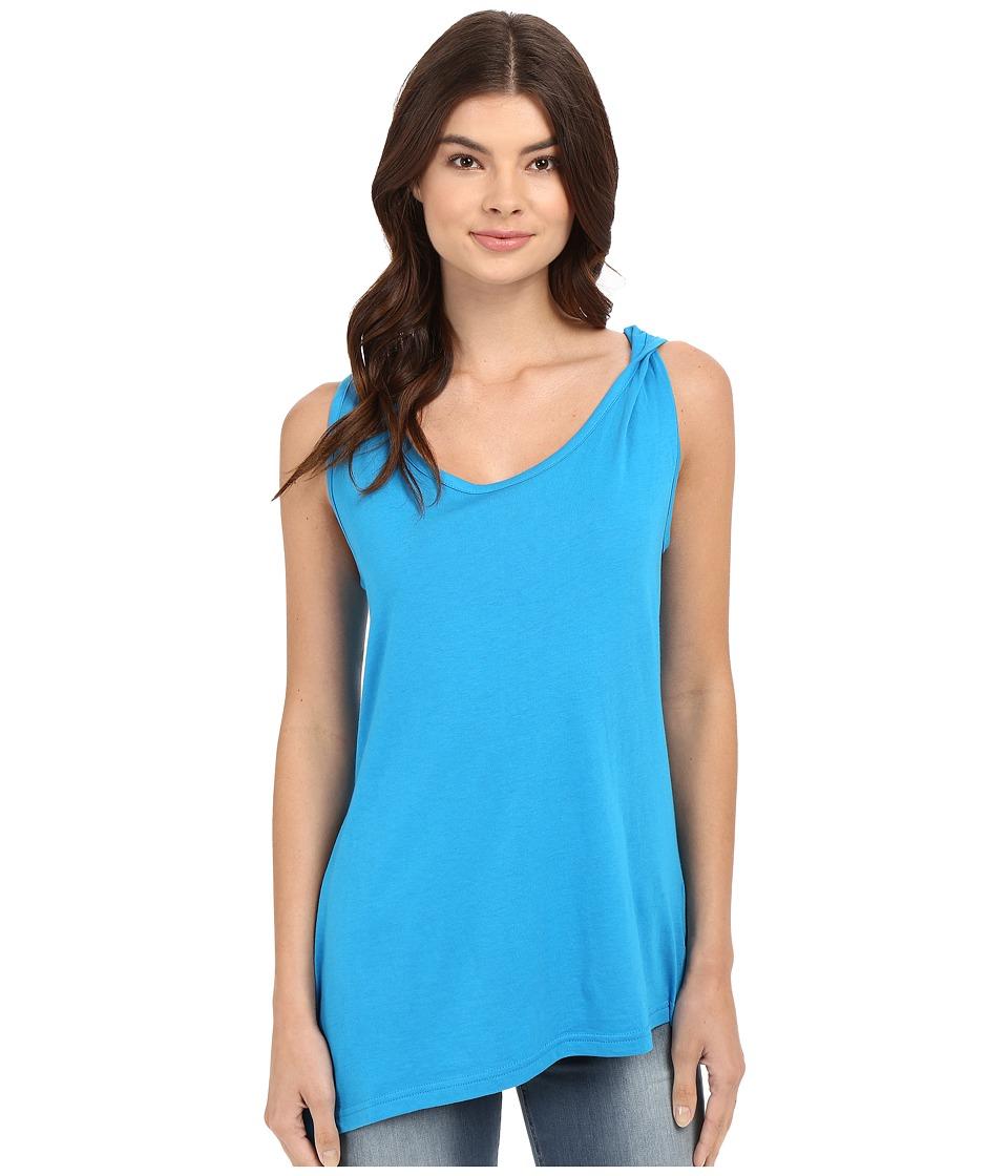 Bench - Covet Short Sleeve Top (Methyl Blue) Women's Short Sleeve Pullover