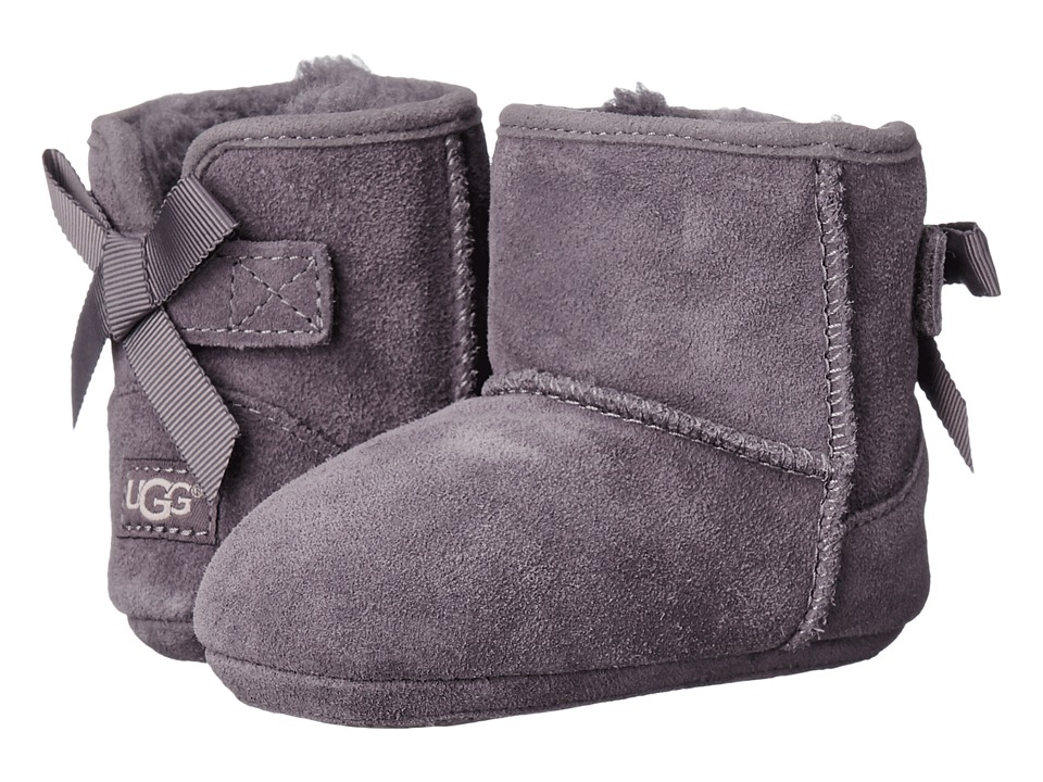UGG Kids - Jesse Grosgrain Bow (Infant/Toddler) (Nightfall) Girls Shoes