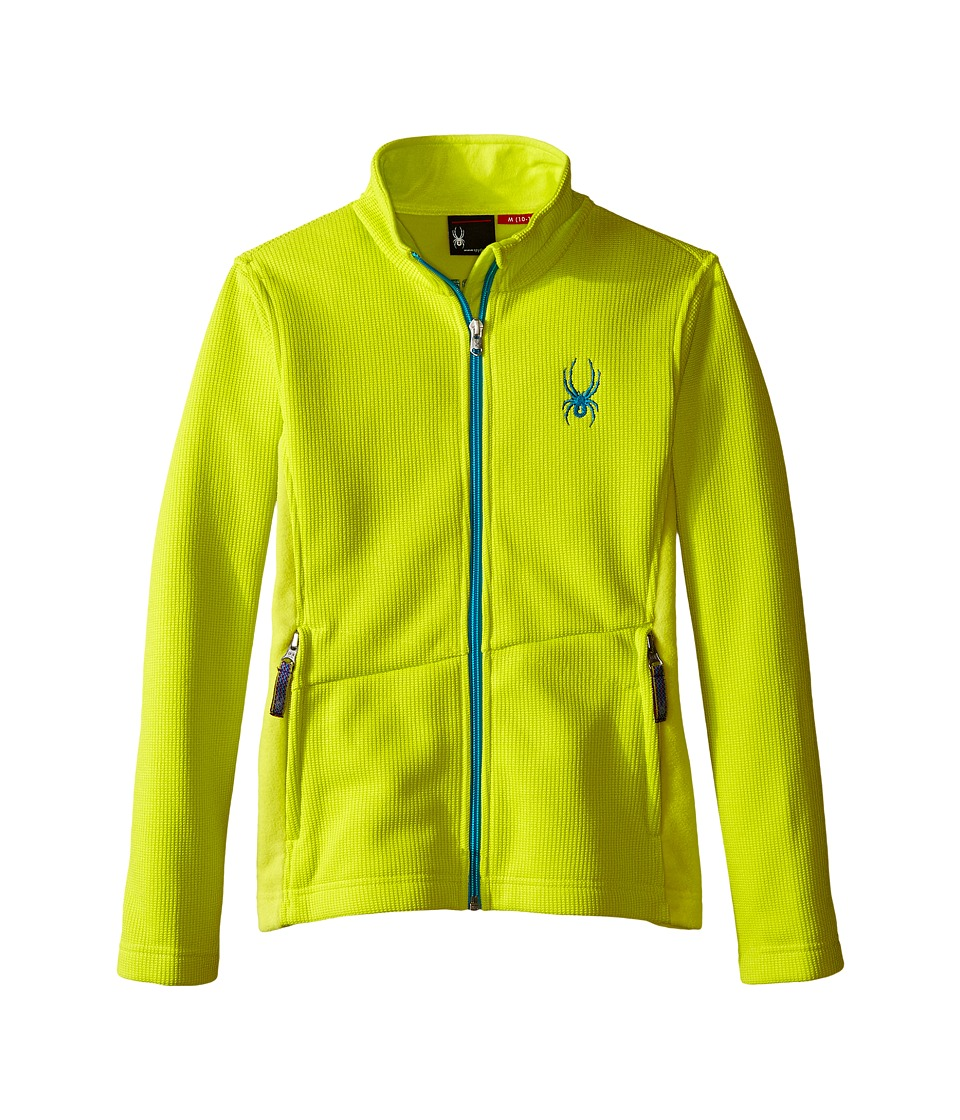 Spyder Kids - Endure Mid WT Stryke Fleece (Little Kids/Big Kids) (Acid/Bluebird) Girl's Coat