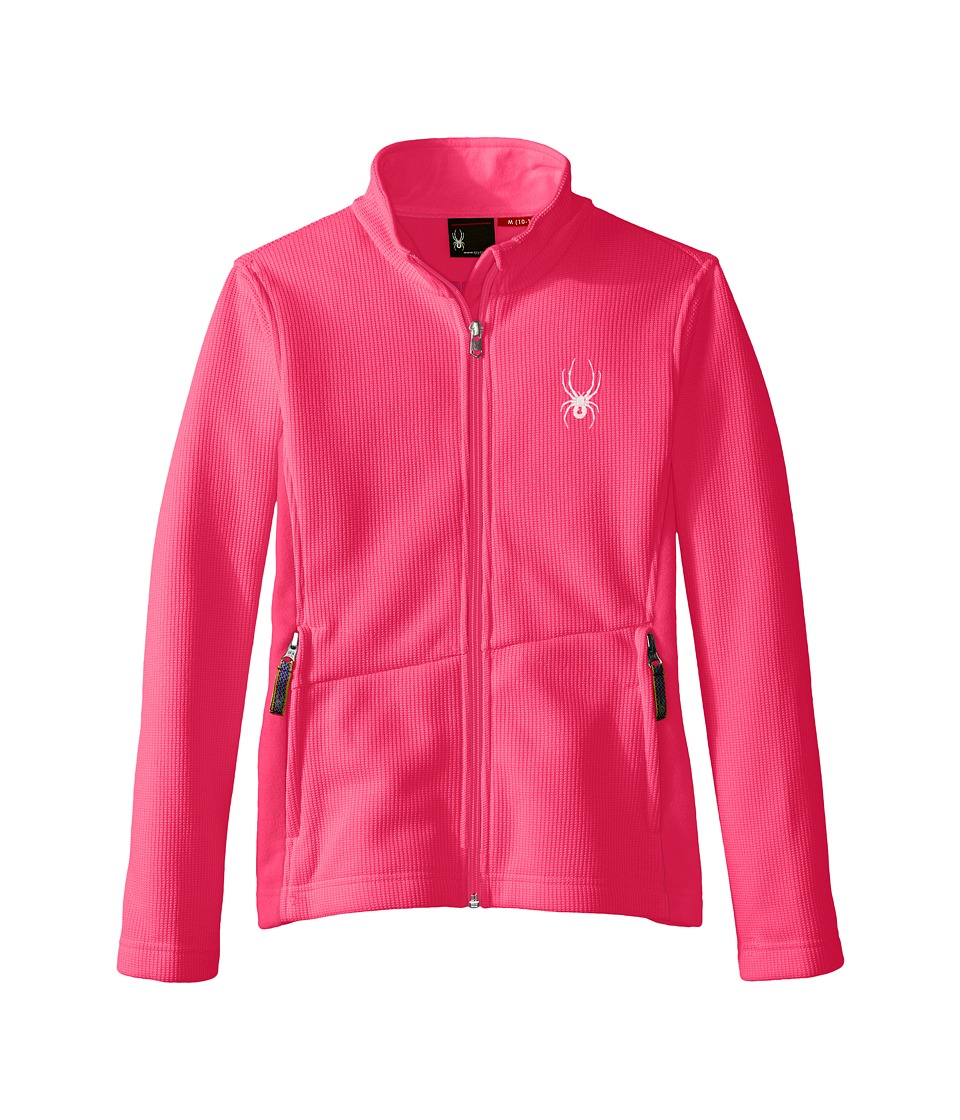 Spyder Kids - Endure Mid WT Stryke Fleece (Little Kids/Big Kids) (Bryte Bubblegum/Bryte Bubblegum) Girl's Coat