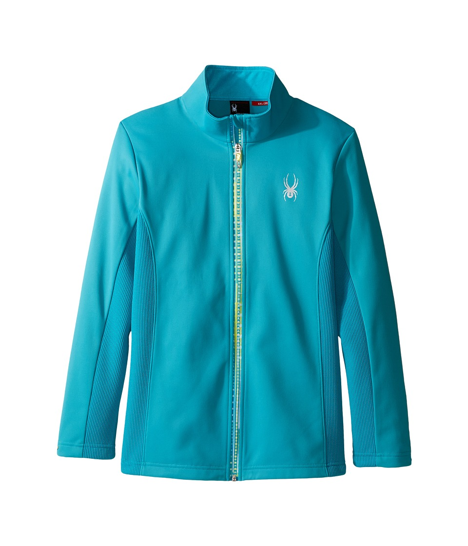Spyder Kids - Trio Mid WT Stryke Fleece (Little Kids/Big Kids) (Bluebird/Harmony_Alt Bluebird) Girl's Coat