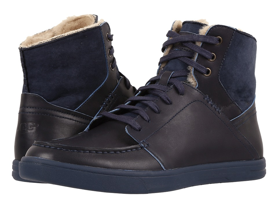 UGG - Pressly (Navy) Men's Lace up casual Shoes