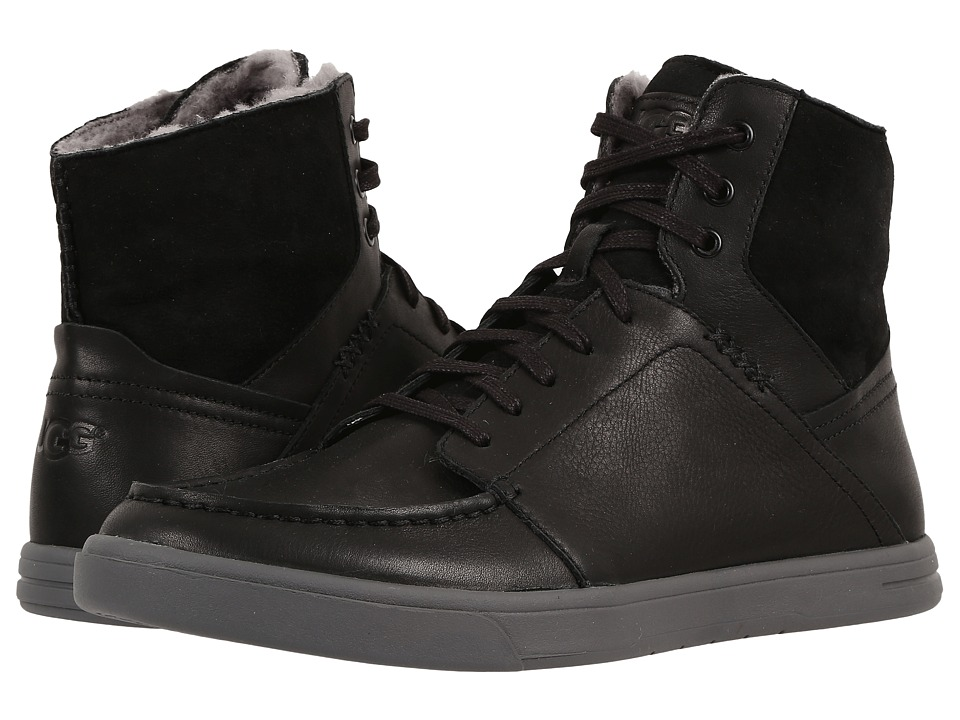 UGG - Pressly (Black) Men's Lace up casual Shoes