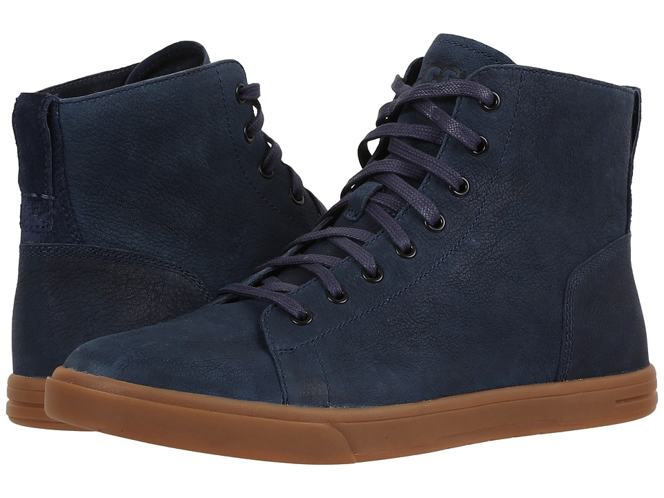 UGG - Steiner (Navy) Men's Lace up casual Shoes