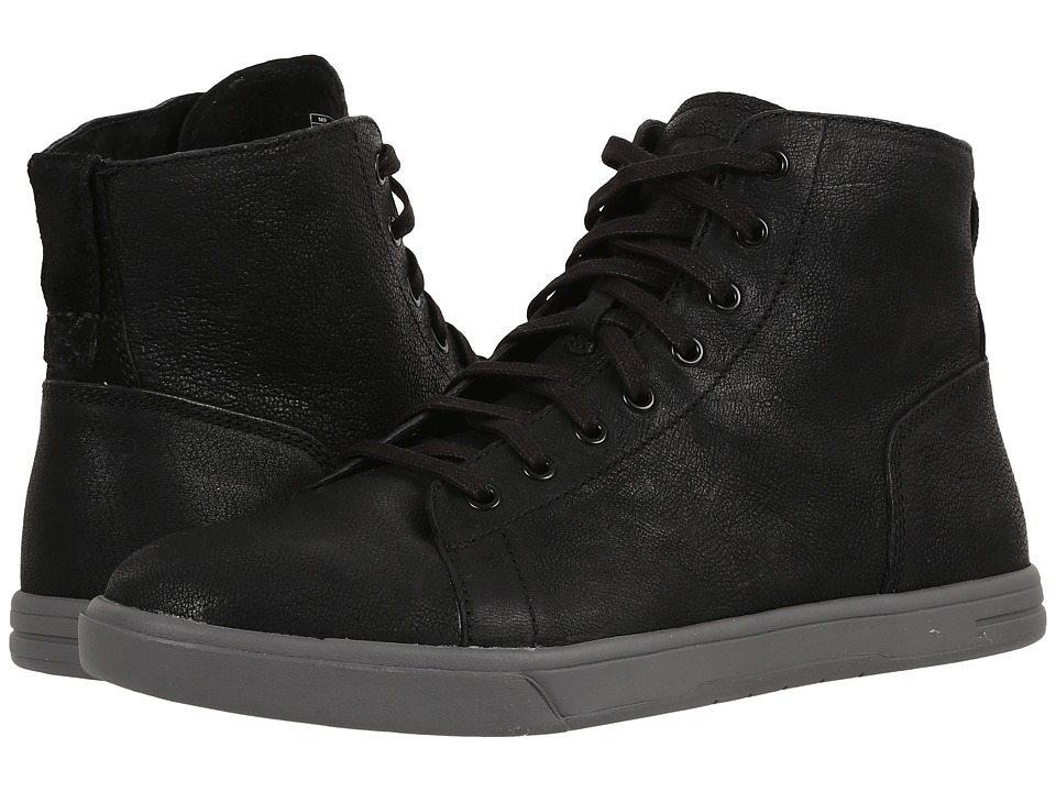 UGG - Steiner (Black) Men's Lace up casual Shoes