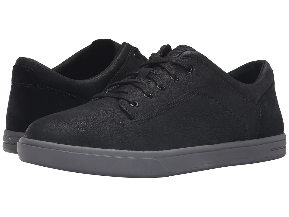 UGG - Bueller (Black) Men's Lace up casual Shoes