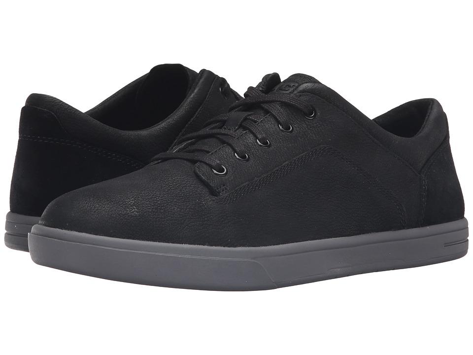 UGG - Bueller (Black) Men's Lace up casual Shoes