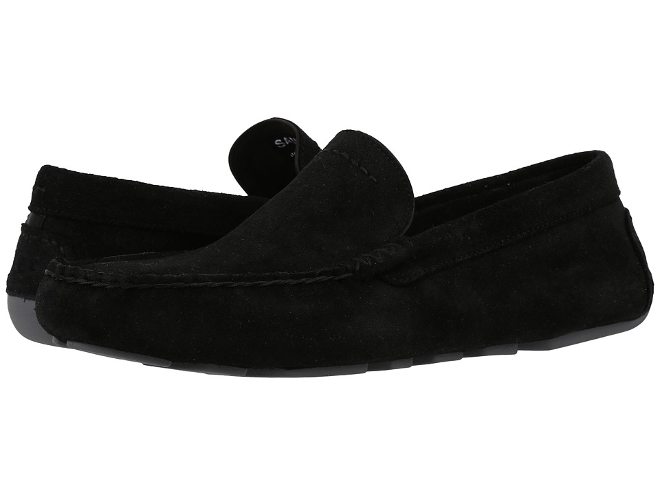 UGG - Henrick (Black) Men's Slip on Shoes