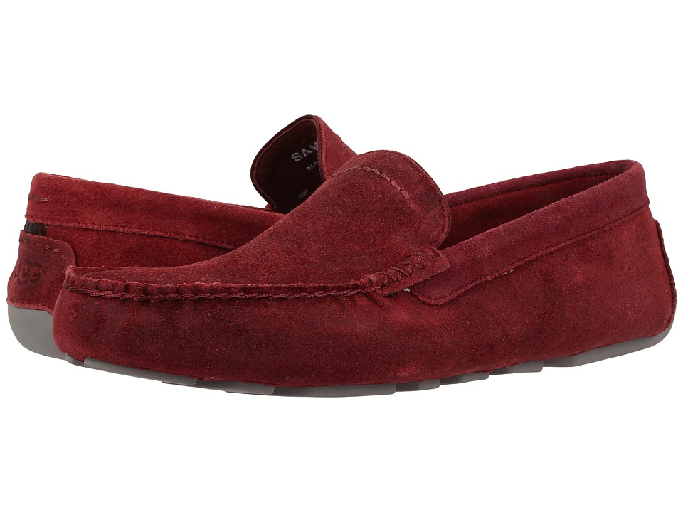 UGG - Henrick (Timeless Red) Men's Slip on Shoes