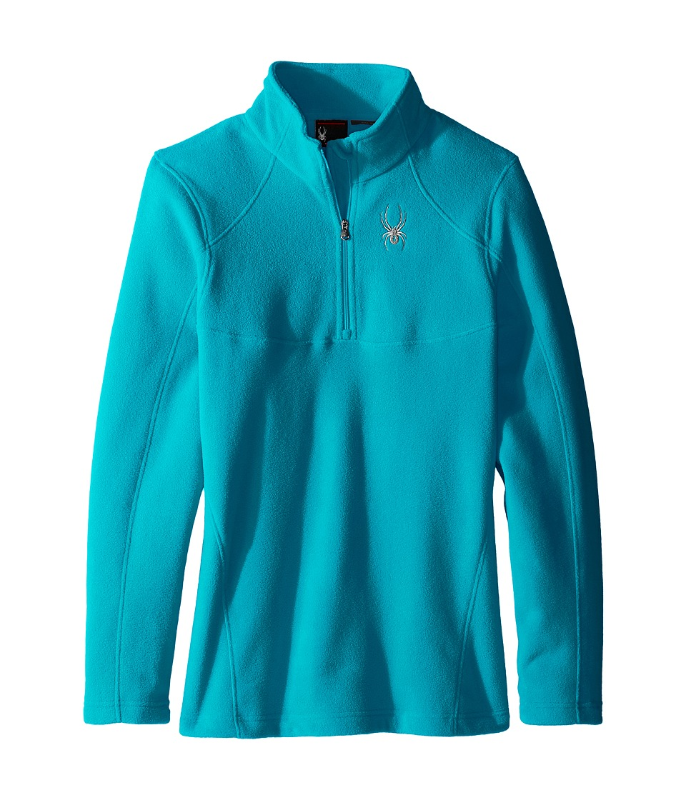Spyder Kids - Speed Fleece Top (Little Kids/Big Kids) (Bluebird) Girl's Long Sleeve Pullover