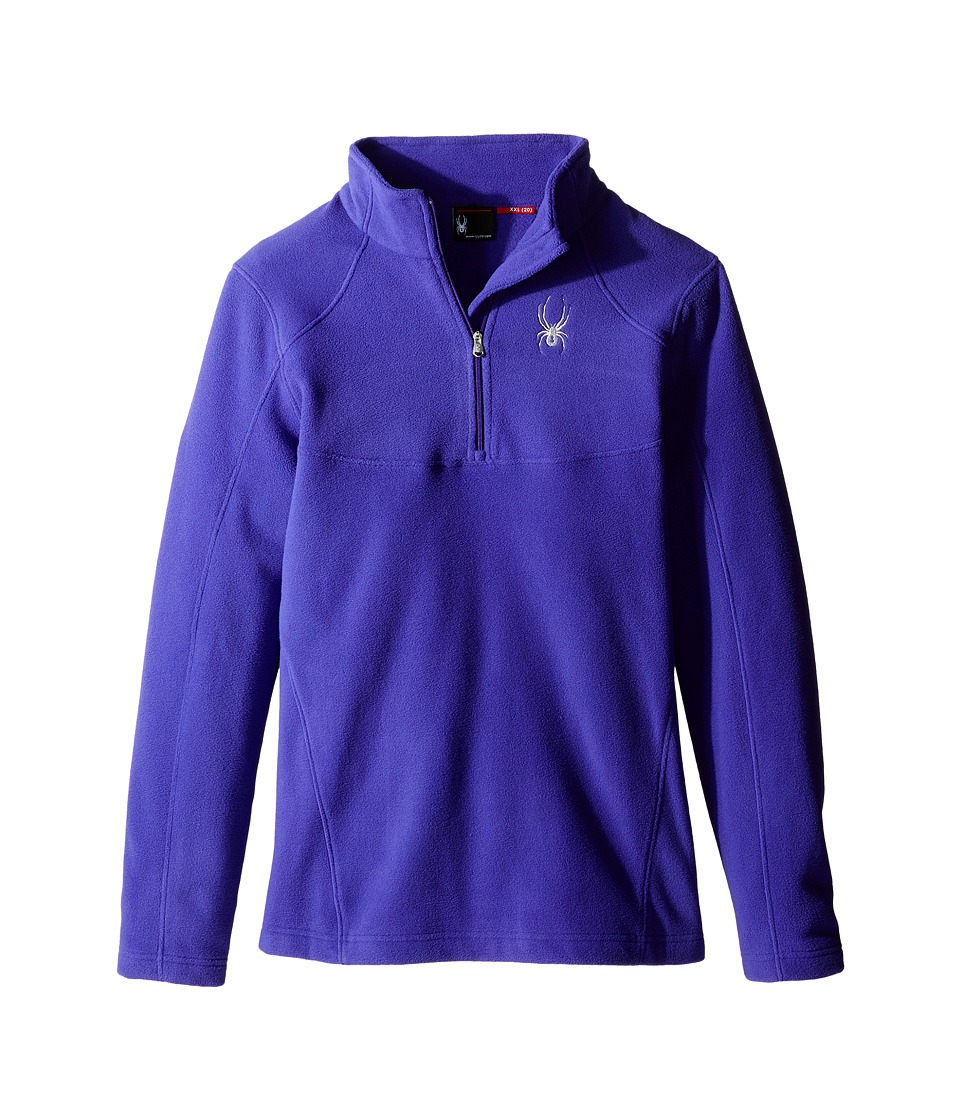 Spyder Kids - Speed Fleece Top (Little Kids/Big Kids) (Pixie) Girl's Long Sleeve Pullover