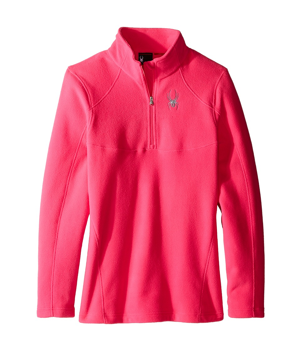Spyder Kids - Speed Fleece Top (Little Kids/Big Kids) (Bryte Bubblegum) Girl's Long Sleeve Pullover