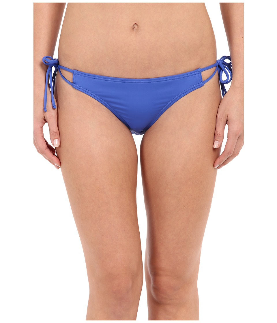 Echo Design - Solid Strappy Bottom (Dazzling Blue) Women's Swimwear