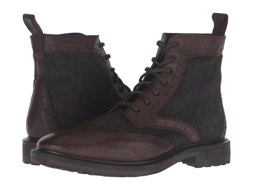 Kenneth Cole Reaction - If U Must (Dark Brown) Men's Shoes