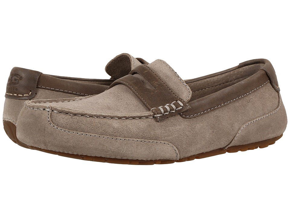 UGG - Tucker (Dark Fawn) Men's Slip on Shoes