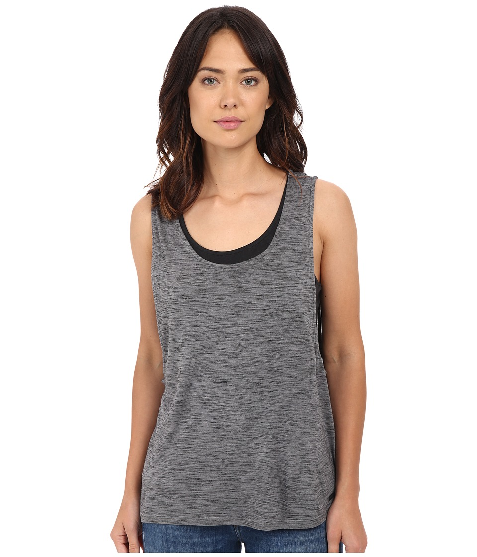 Bench - Topof Short Sleeve Top (Smoked Pearl) Women's Short Sleeve Pullover