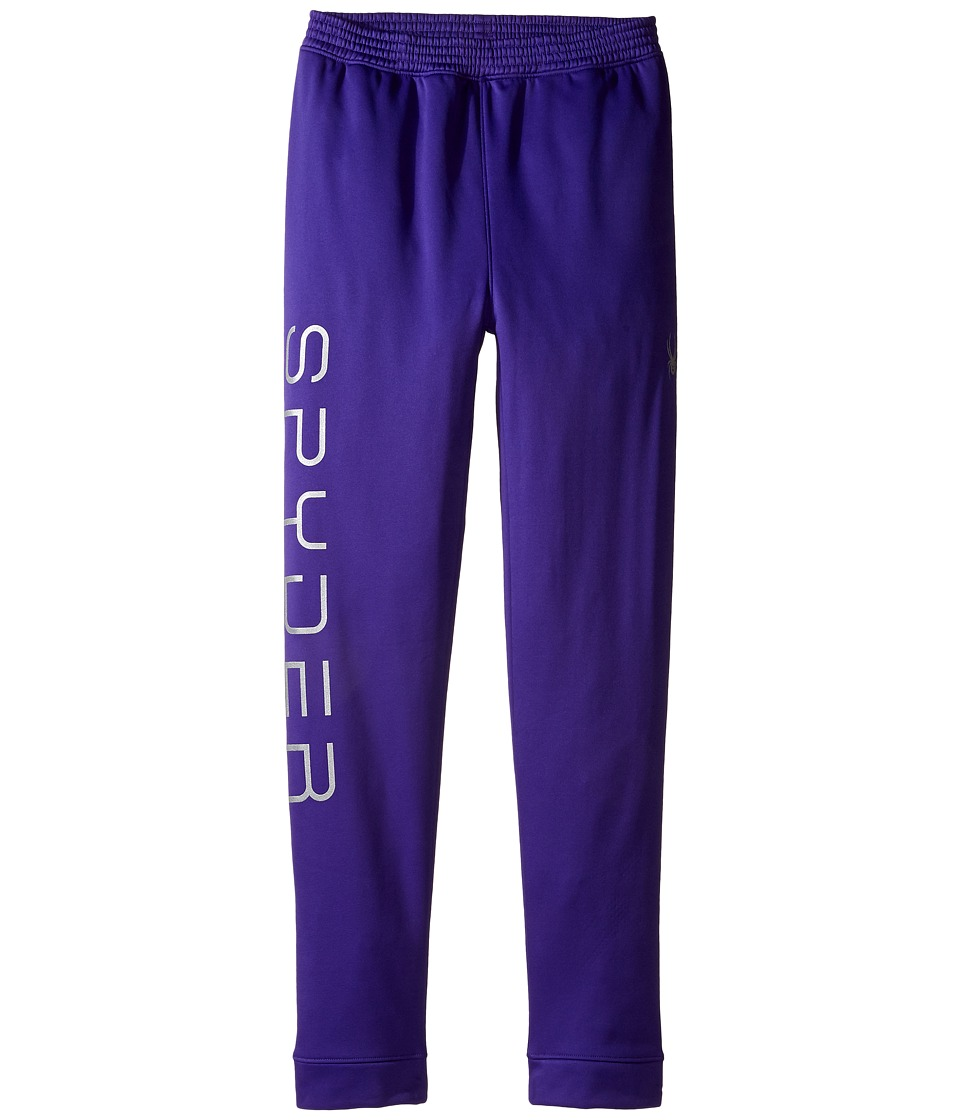 Spyder Kids - Varcity Fleece Pants (Toddler/Little Kids/Big Kids) (Pixie) Girl's Casual Pants
