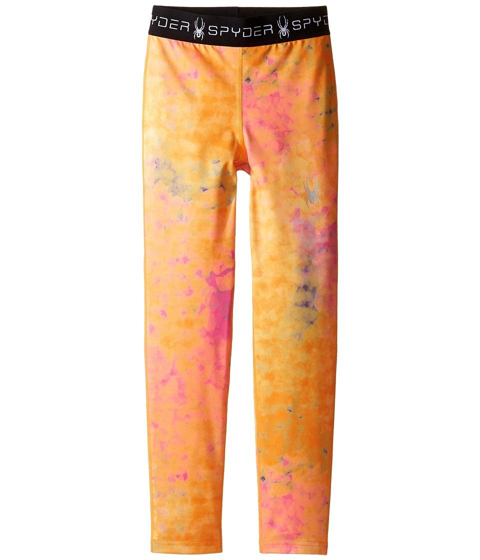 Spyder Kids - Spryte Tights (Toddler/Little Kids/Big Kids) (Morning Sky Bryte Bubblegum) Girl's Casual Pants