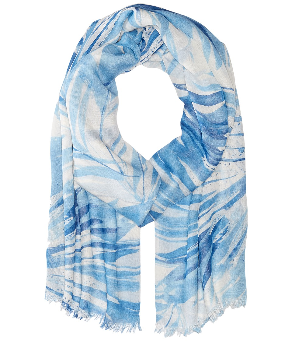 LAUREN Ralph Lauren - Naomi Scarf (Light Indigo Blue) Scarves
