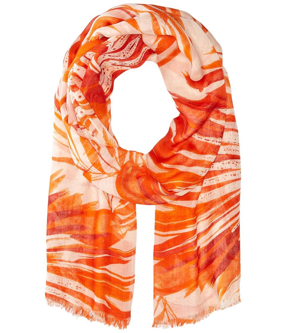 LAUREN Ralph Lauren - Naomi Scarf (Pompano Orange) Scarves