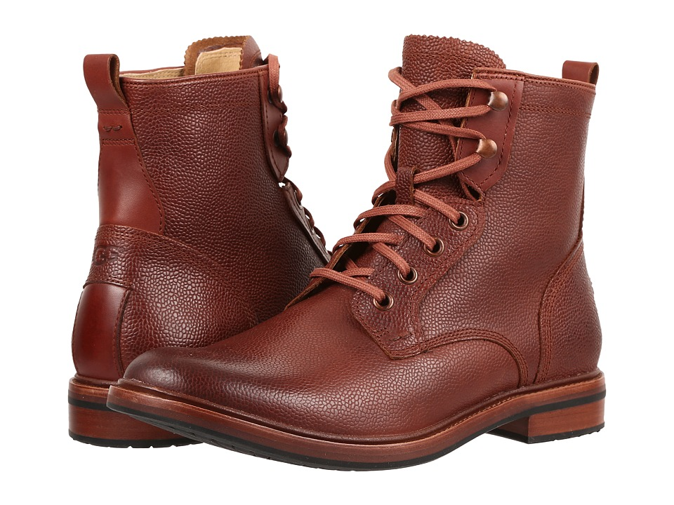 UGG - Selwood Scotch Grain (Cognac) Men's Boots