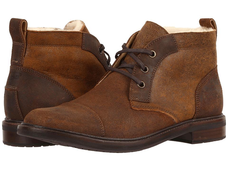 UGG - Galen Bomber (Bomber Jacket Chestnut) Men's Boots