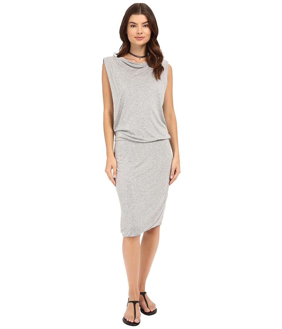 Bench - Lay Low II Dress (Grey) Women's Dress