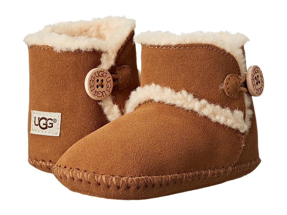 UGG Kids Lemmy (Infant/Toddler) (Chestnut) Girls Shoes