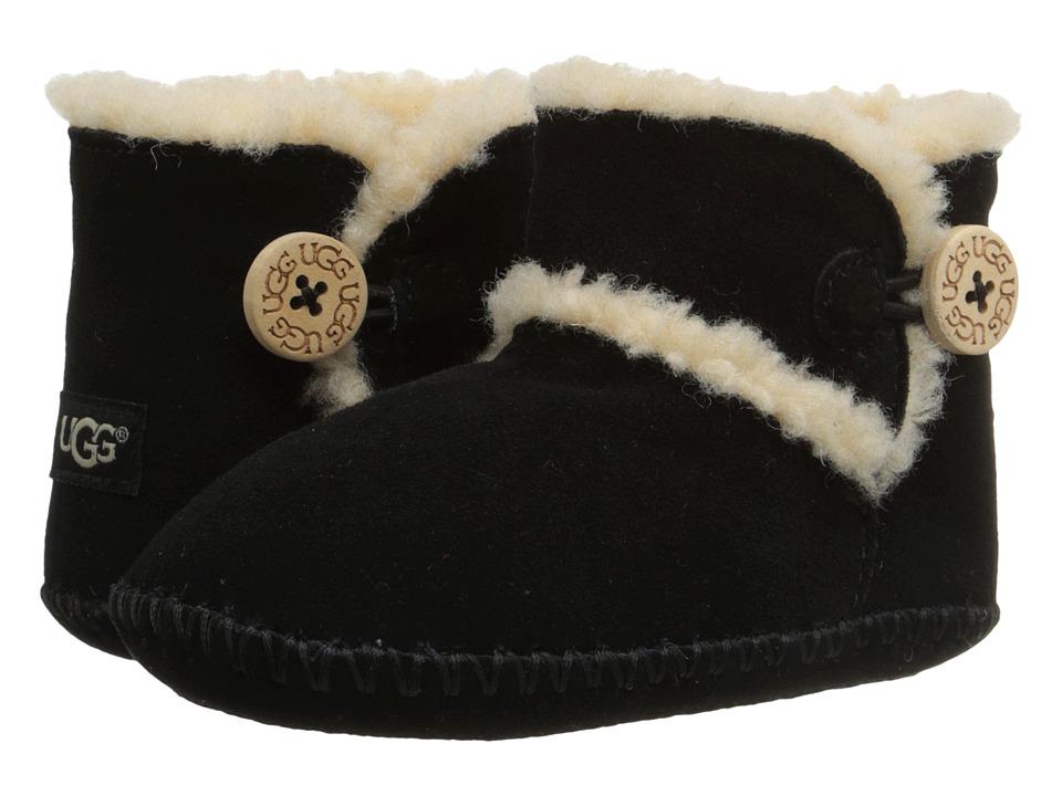 UGG Kids Lemmy (Infant/Toddler) (Black) Girls Shoes