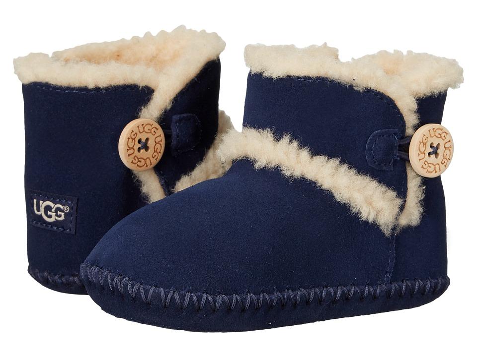 UGG Kids Lemmy (Infant/Toddler) (Peacoat) Girls Shoes