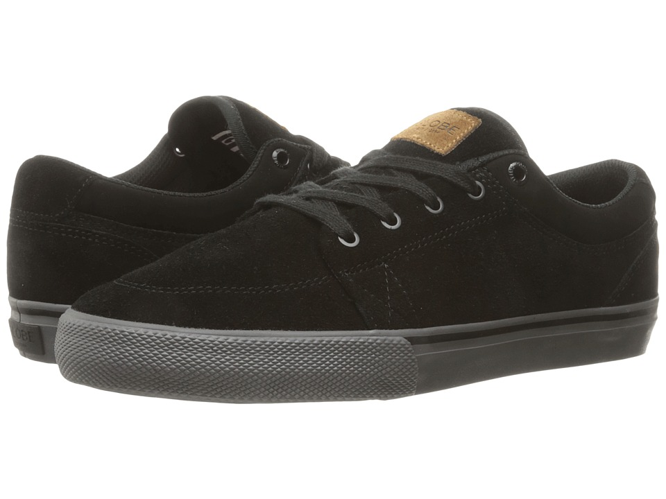 Globe - GS (Black/Black/Red) Men's Skate Shoes