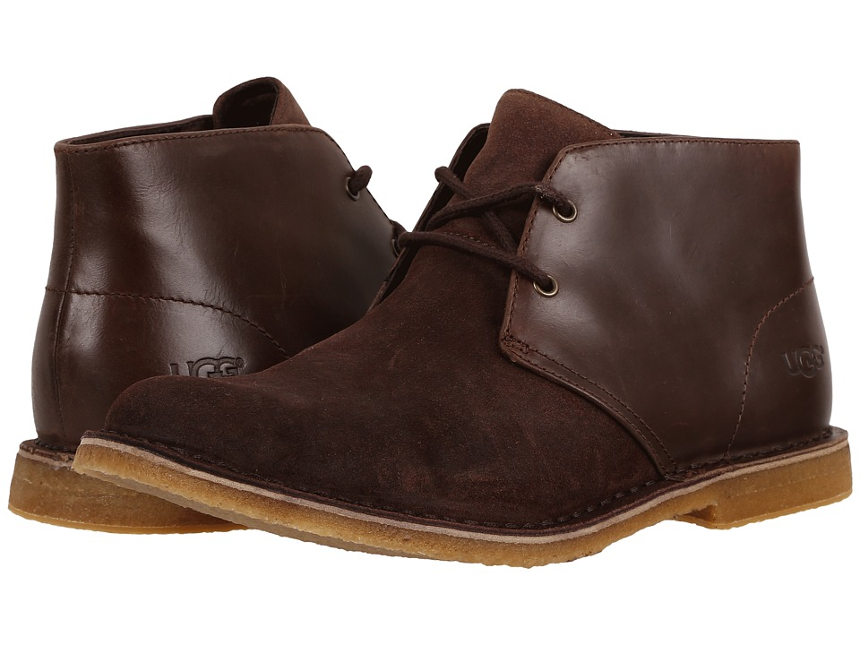 UGG - Leighton (Stout) Men's Dress Lace-up Boots